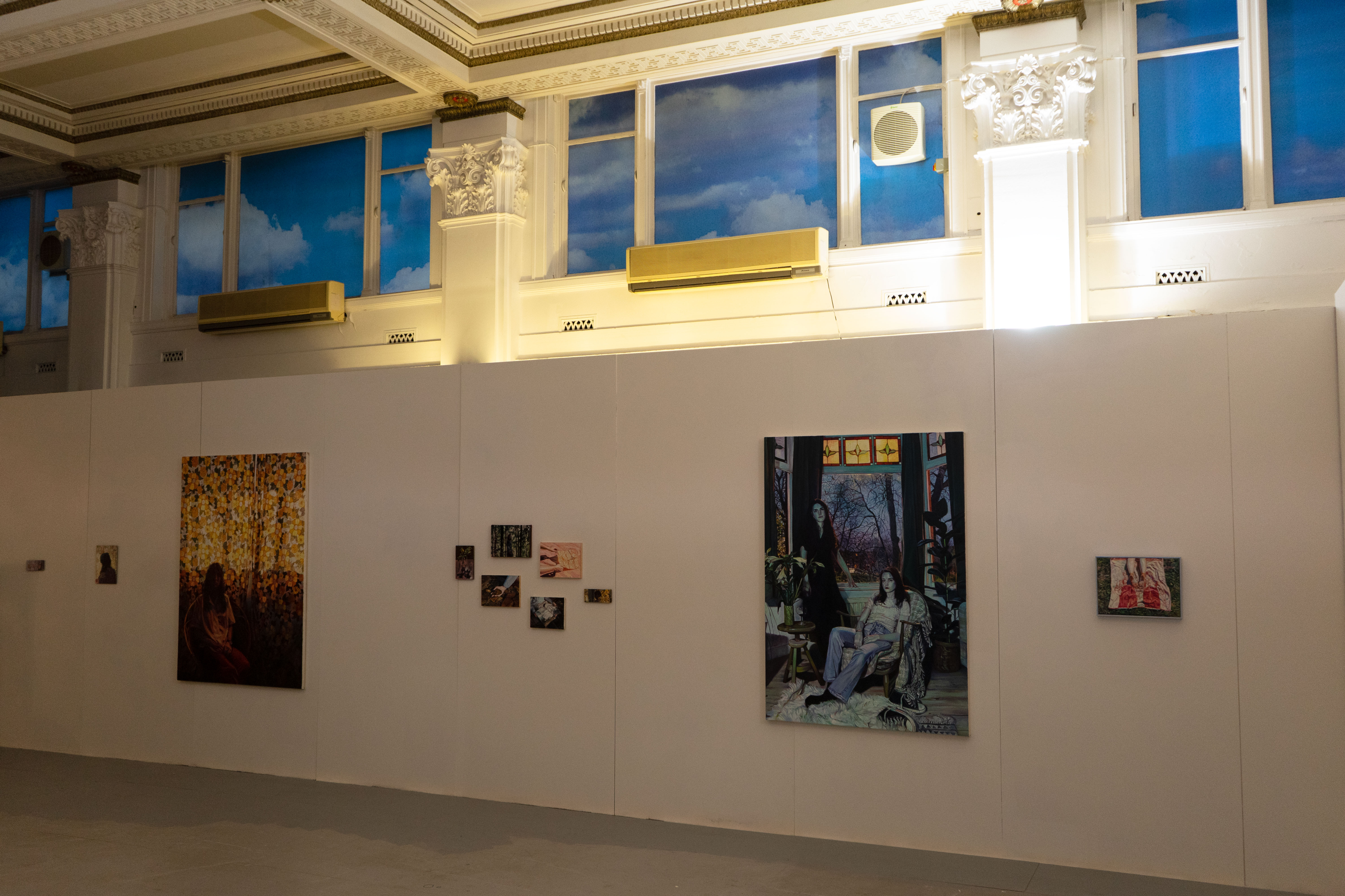 The Blue Hour, Installation view, The Old Bank Residency